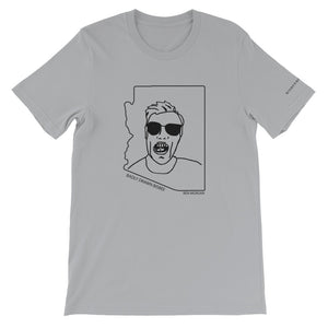 Ben Morgan | Crew Neck T-Shirt | Badly Drawn Bisbee