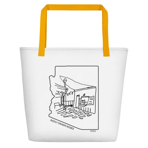 Poco | Beach Bag | Badly Drawn Bisbee