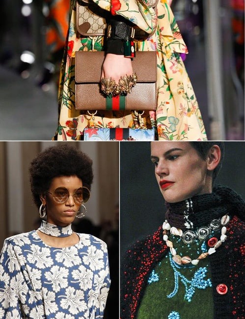 Guess what the biggest accessory trend of spring/summer 2018 is?!