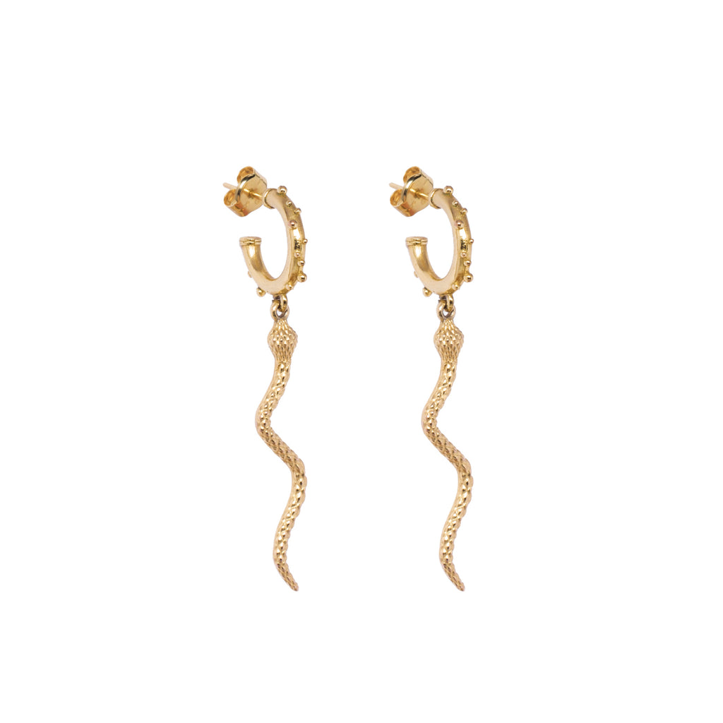Creollas Snake Bollitos SINGLE EARRING