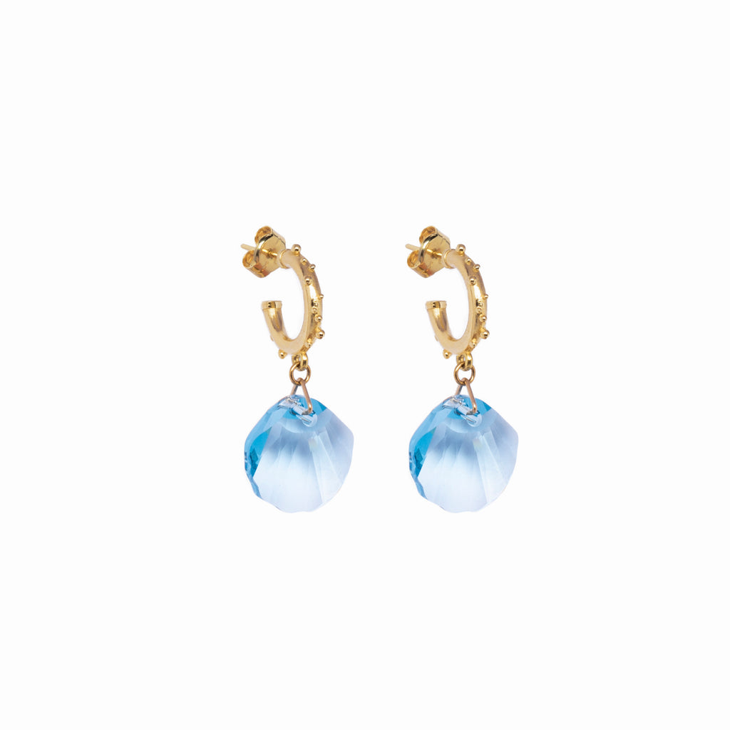 Set Creollas bollitos seashell light blue