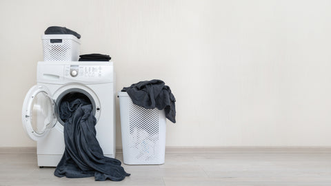Concept of preparation to laundry process.