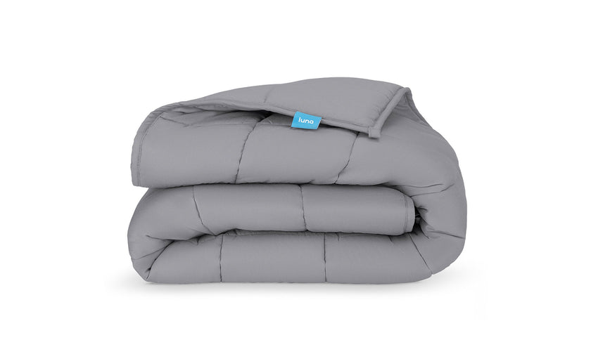 15 12lbs Cotton Breathable Weighted Blanket Reduce Stress Promote Sleep Twin que