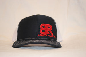 Branded Ranch Navy and White Snapback