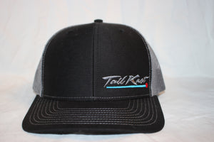 Tail Knot Black and Grey Snapback