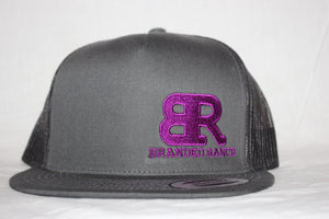 Branded Ranch Charcoal Flat Bill