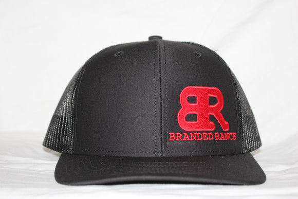 Branded Ranch Red and Black SnapBack