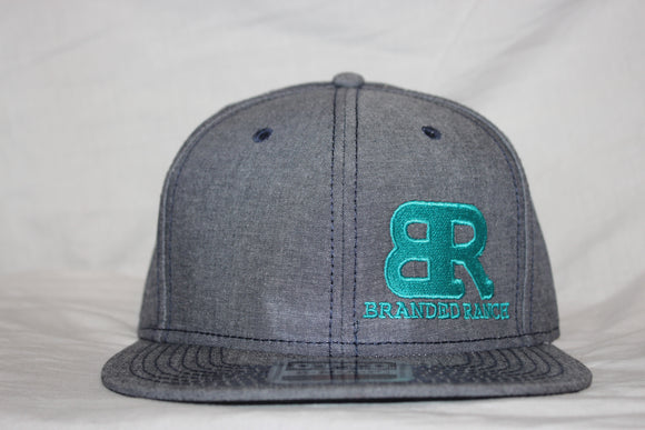 Branded Ranch Denim Snapback