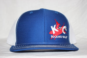 K-C Blue and White Snapback
