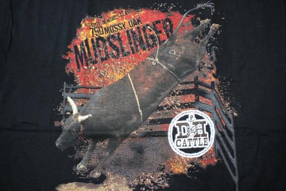 Mossy Oak Mudslinger Adult Shirt - Black