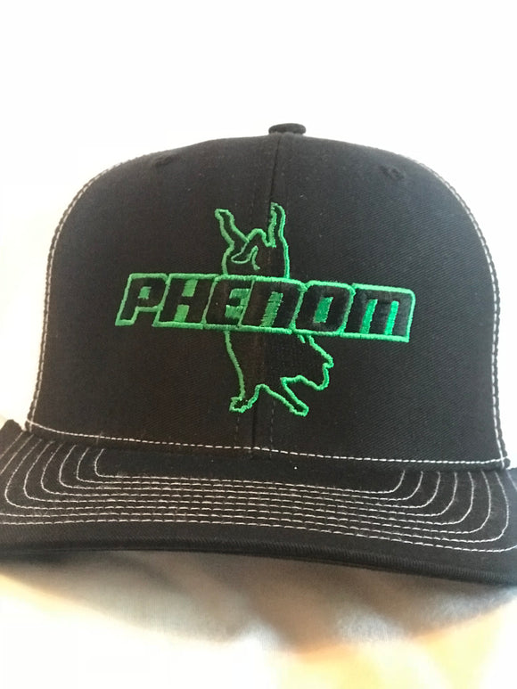 Phenom Genetics Black and White Snapback