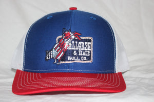 Red and Blue  Wallgren & Hale Snapback
