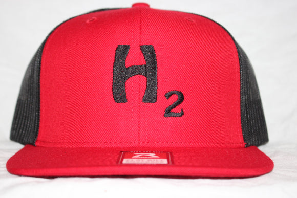 Hebert H2 Red Snapback