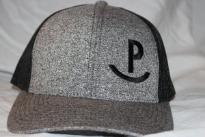 Rockin P Heathered Black on Black