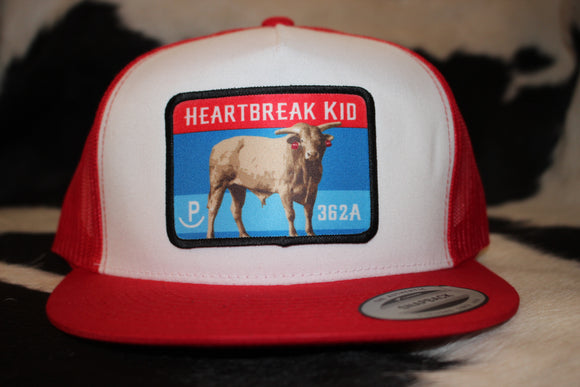 Heartbreak Kid Color Patch Hats