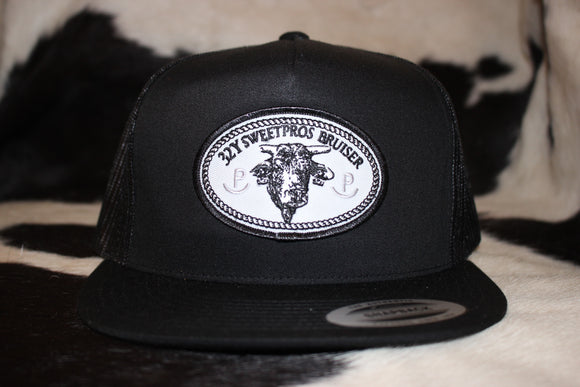 Bruiser Patch Snapback Black