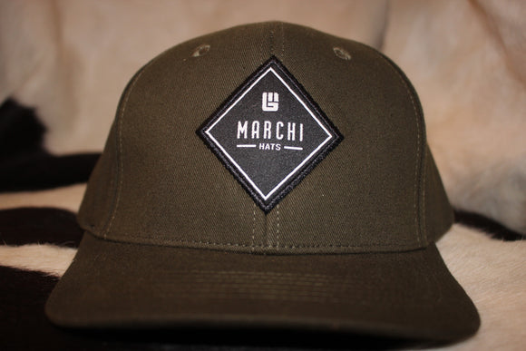 Military Green Patch Hat