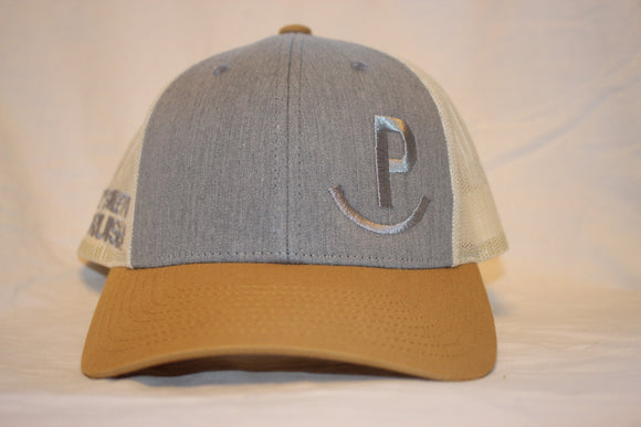 Bruiser Heather Grey and Birch Snapback