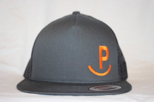 Rockin P Solid Charcoal Snapback