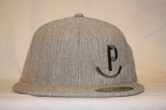 Rockin P Heather Grey  Flexfit