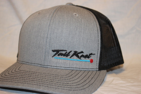 Tail Knot Heather Grey Snapback