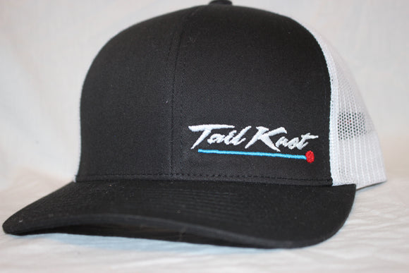 Tail Knot Black Snapback