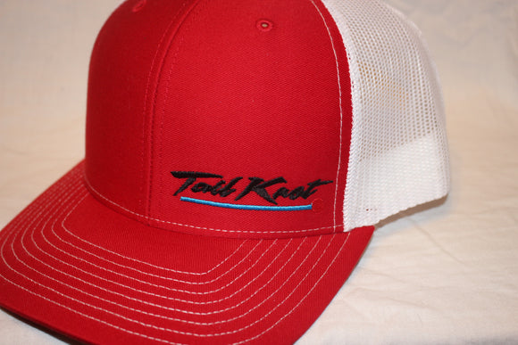 Tail Knot Red Snapback