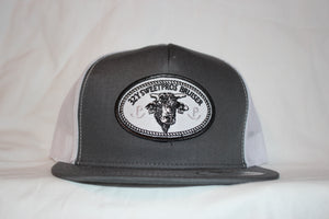 Bruiser Charcoal and White Snapback