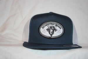 Bruiser Patch Snapback Navy