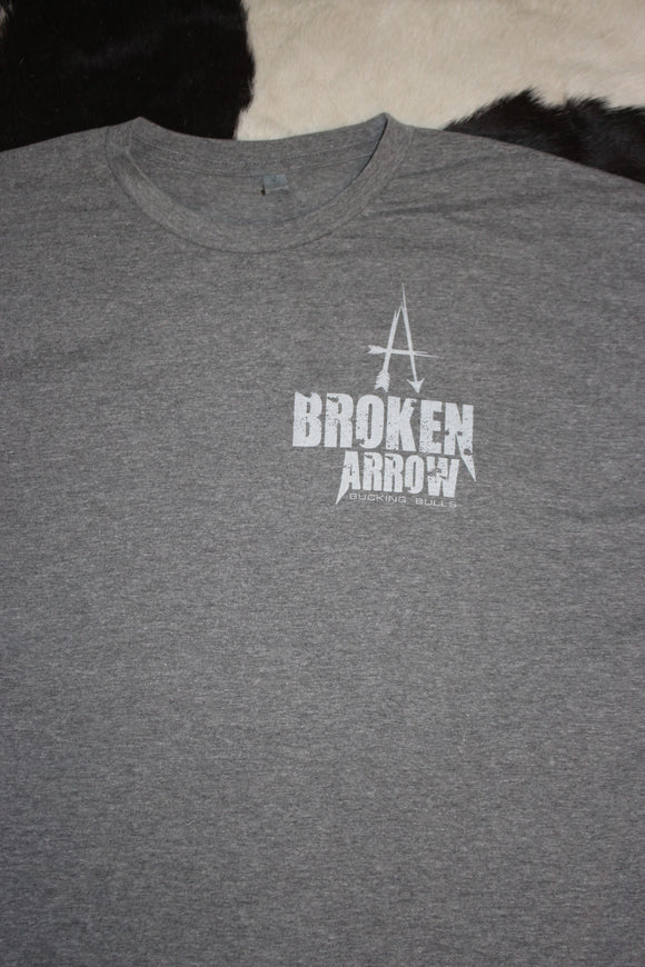 Broken Arrow Light Grey T-Shirt