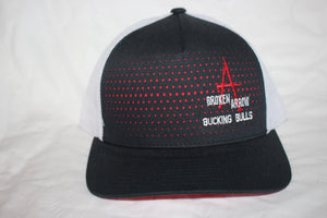 BA Black and Red Snapback