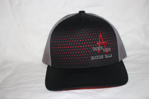 BA Black and Red  and Grey Snapback
