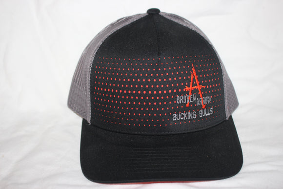 BA Black and Orange and Grey Snapback
