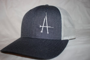 BA Denim and Silver Snapback