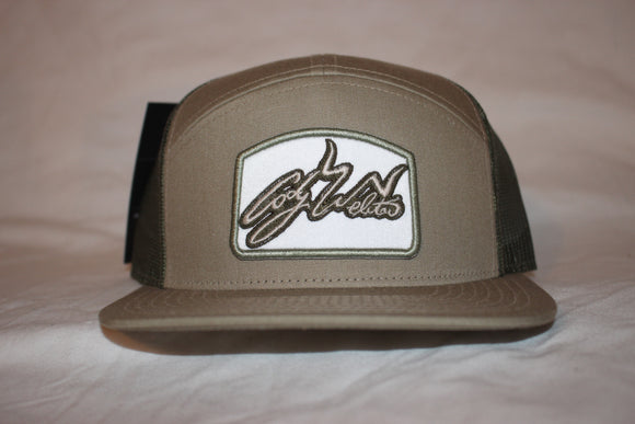Khaki and Green 7 Panel