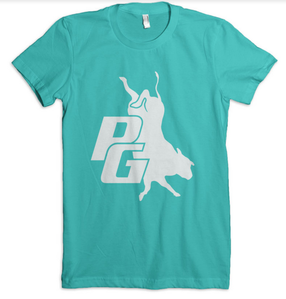 Ladies Phenom Genetics T-shirt Teal