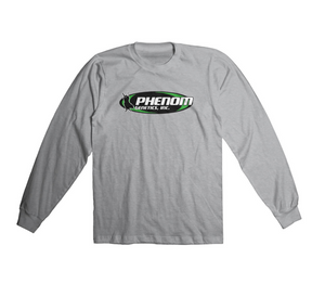 Phenom Genetics Long Sleeve Shirt  Athletic Grey
