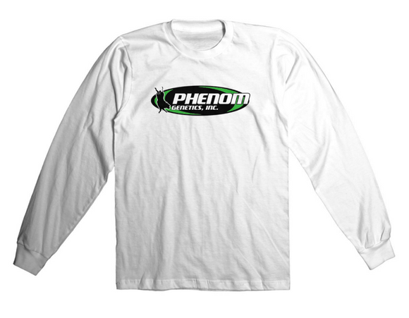 Phenom Genetics Long Sleeve Shirt White