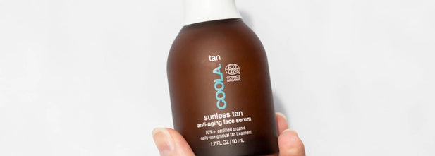 Keep That Summer Glow With COOLA's Sunless Tan Anti-Aging Face Serum