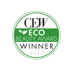 CEW Eco Beauty Award Winner 2015