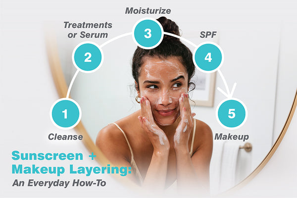 Sunscreen + Makeup Layering: An Everyday How-To