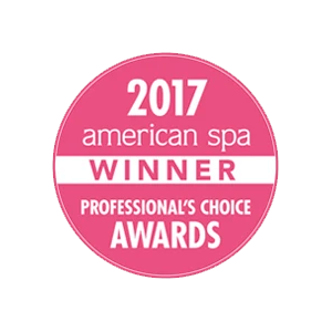 2017 American Spa Winner Professional's Choice Awards
