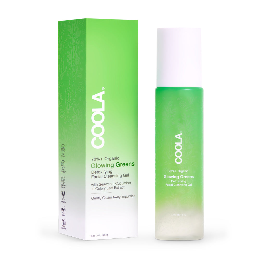 Glowing Greens Detoxifying Facial Cleansing Gel featured image