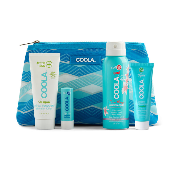 4 Piece Organic Sport Suncare Travel Set product image