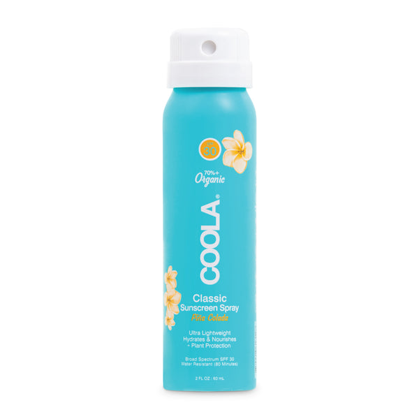 Travel Size Classic Body Organic Sunscreen Spray SPF 30 product image