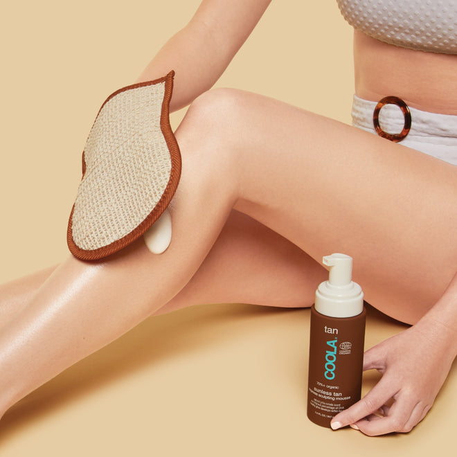Organic Sunless Tan Express Sculpting Mousse image