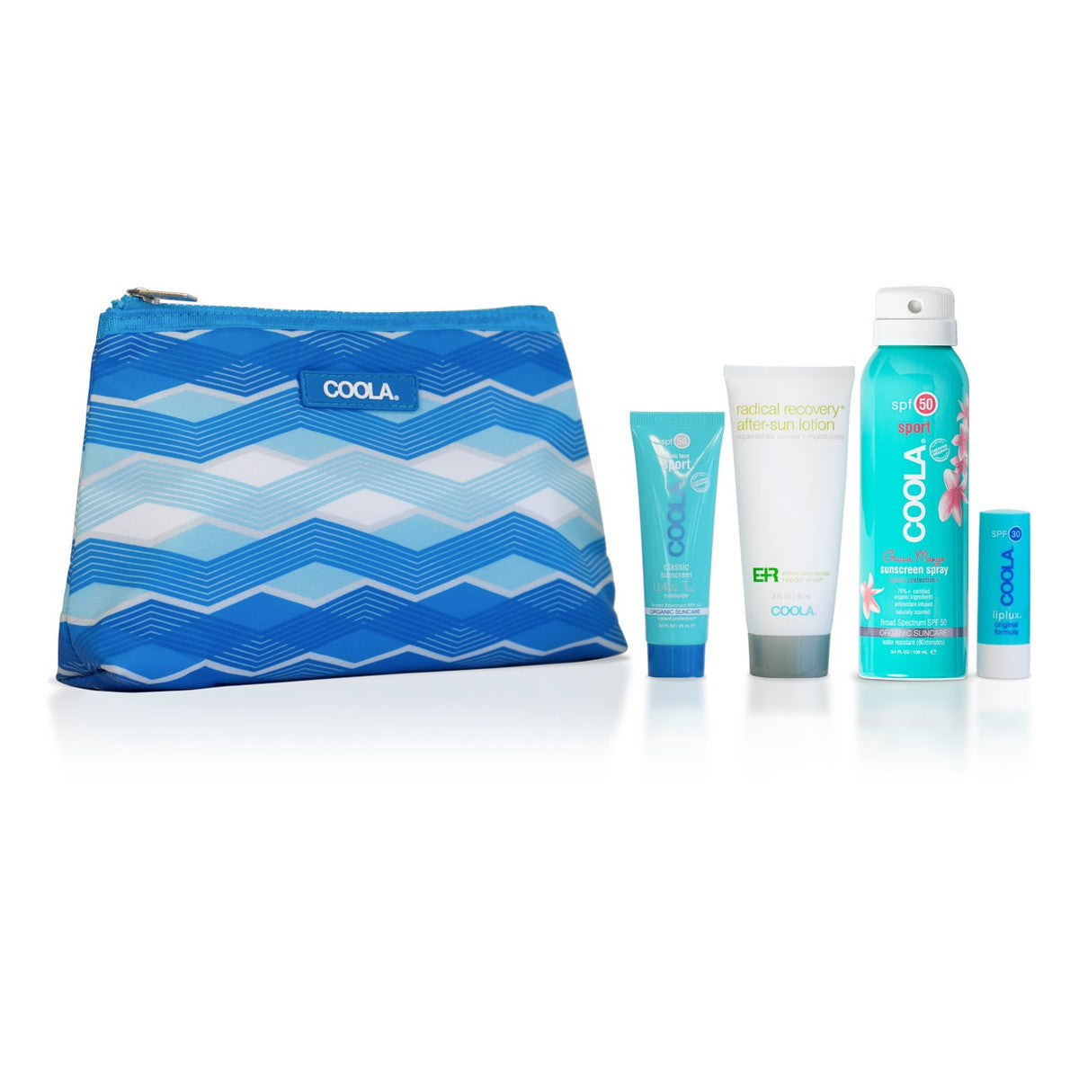 4 Piece Organic Sport Suncare Travel Set featured image