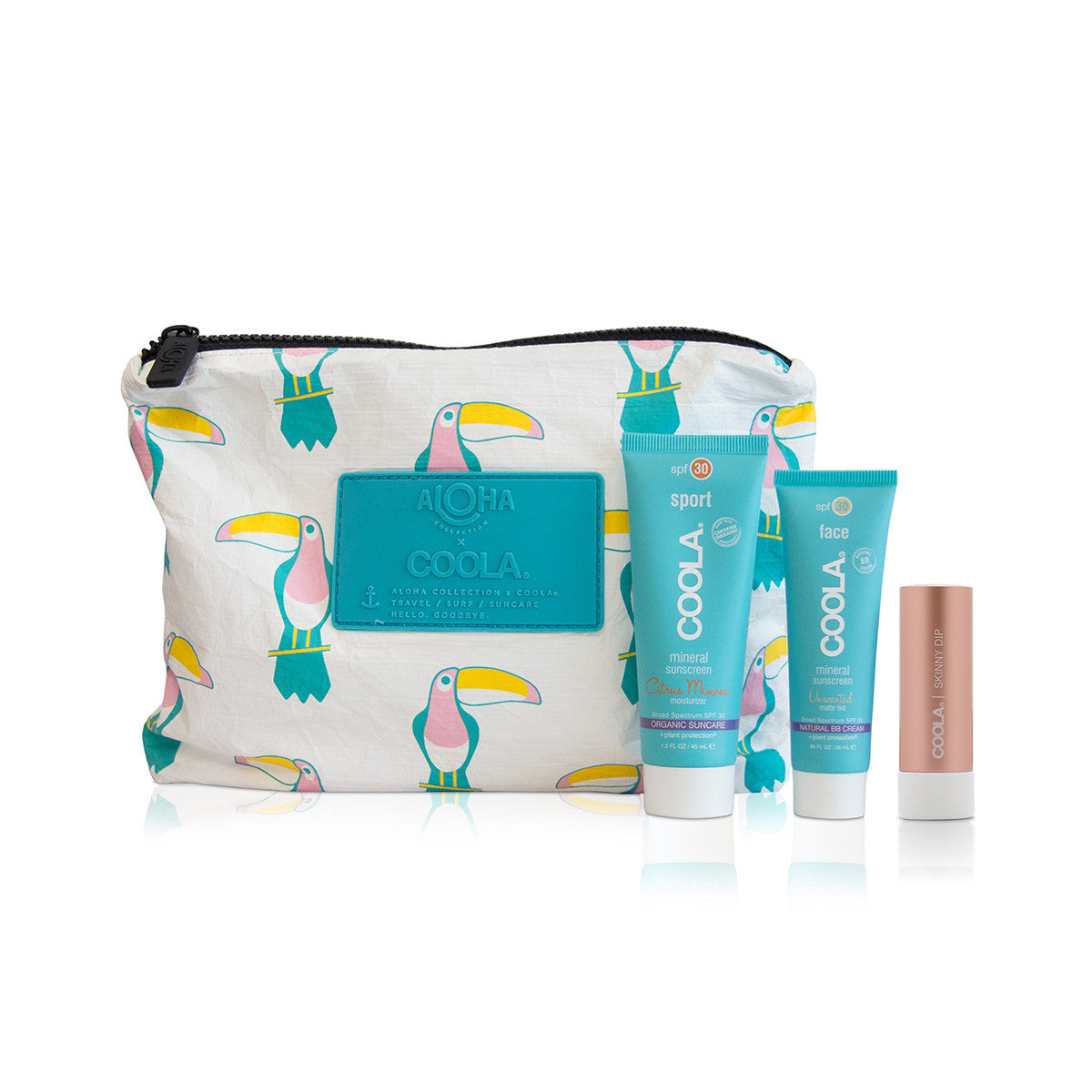Limited Edition COOLA x ALOHA SPF Travel Kit featured image