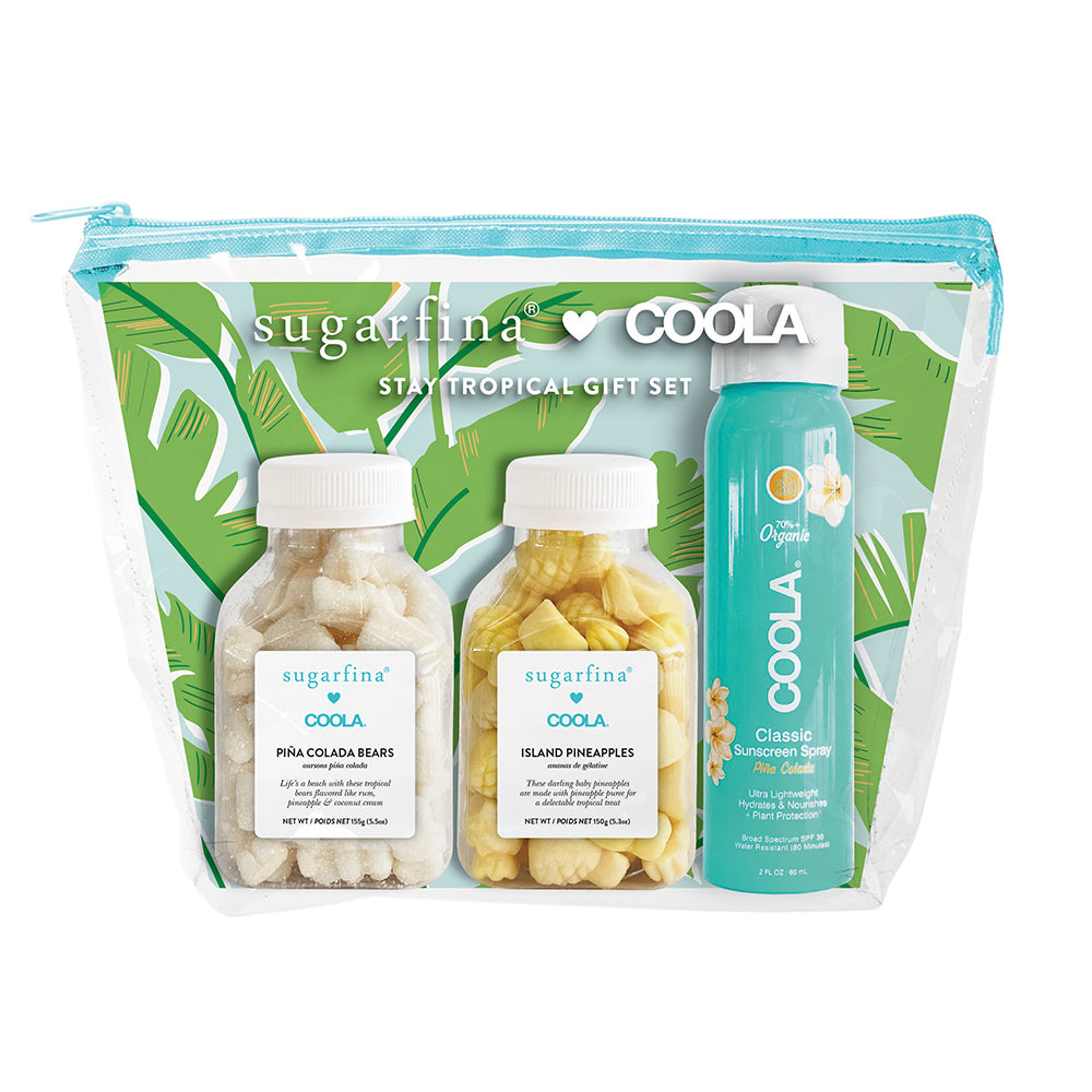 Sugarfina x COOLA Stay Tropical Gift Set