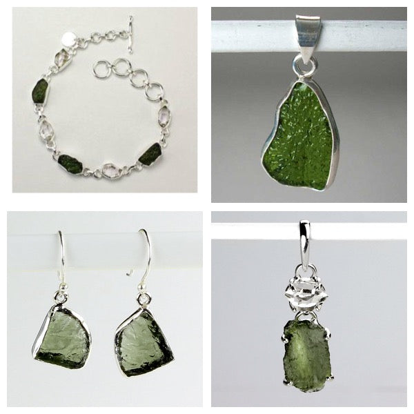 The Benefits of Wearing Moldavite Jewelry